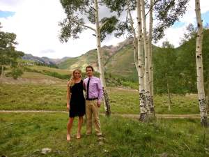 Hannah and I in Telluride, Colorado