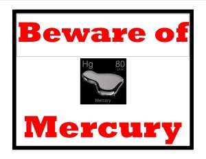 Mercury and back pain